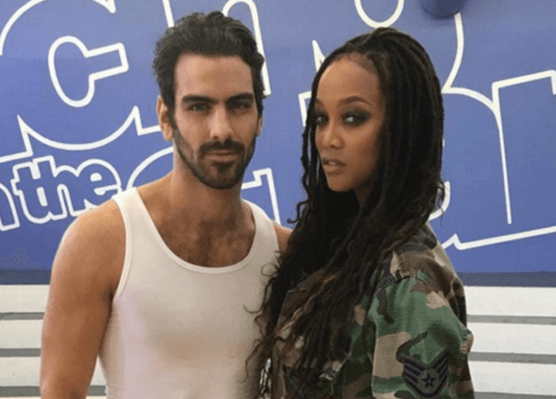 Dancing with the Stars' Nyle DiMarco Gets Surprise From Tyra Banks (VIDEO)