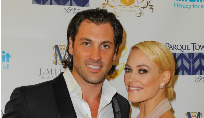 Peta and Maks [Photo by Sergi Alexander/Getty Images]