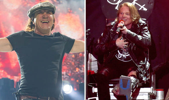 AC/DC's world tour saved by Guns star Axl Rose: Brian Johnson steps out
