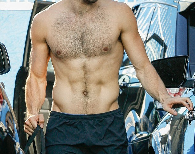DWTS hunk Nyle DiMarco flashes his perfectly toned torso after intense rehearsal in Hollywood