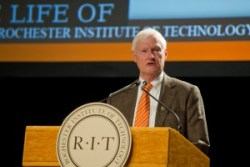 RIT's President Destler announces 2017 retirement
