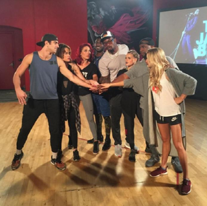 DWTS Team James Brown