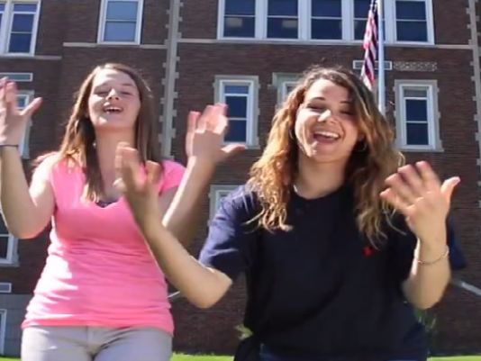 Deaf students to unveil signed video
