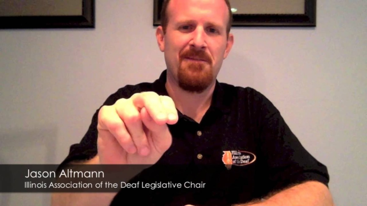 A Message from IAD Legislative Chair Regarding IDHHC