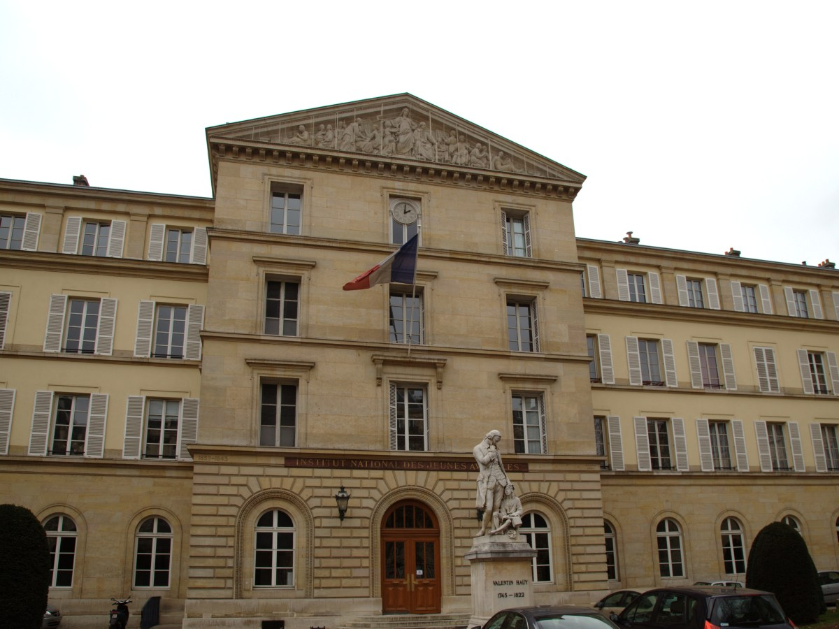 The World's First Public Deaf School: Institut National de Jeunes Sourds de Paris