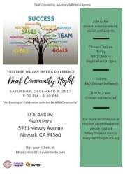 Deaf Community Night