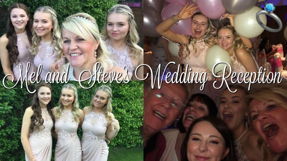 I'M A BRIDESMAID - MY MUM & MY STEP-DAD'S WEDDING RECEPTION!