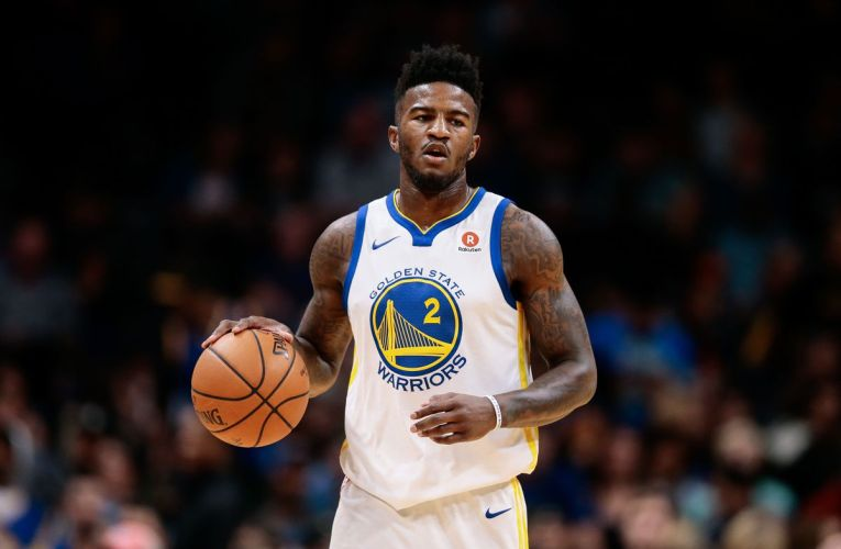 "Jordan Bell of Warriors finger-spells ""Video"" at NBA Championships and the internet going wild."