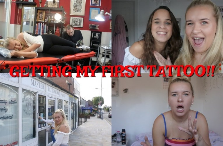 GETTING MY FIRST TATTOO!! BUT HAS IT GONE WRONG?!