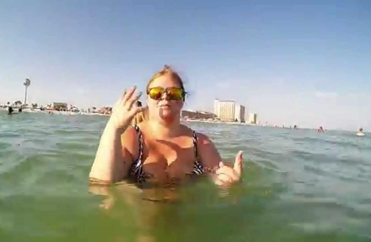 Casino Beach on Pensacola Beach, Florida with GoPro Hero3+ Camera