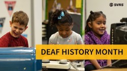 Deaf History Month: Kids Try to Use Old Deaf Devices for the First Time