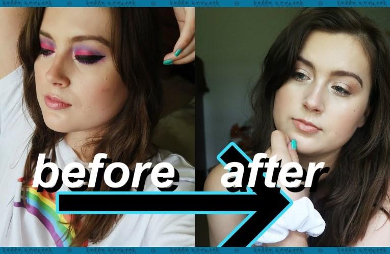 How I Used To Do My Makeup vs Now (As A Former Beauty Guru) | Rikki Poynter