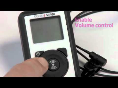 Oticon Amgio – Enabling the Volume and Program Change Buttons on the Amigo Arc