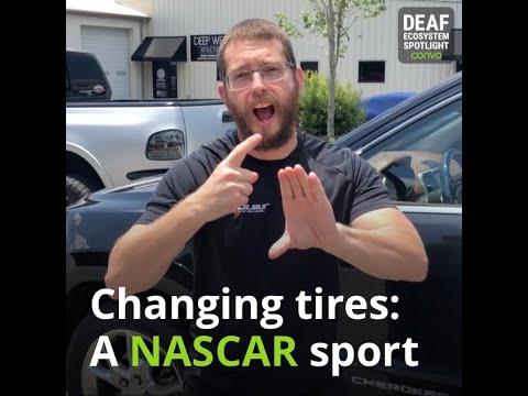 Deaf Ecosystem Spotlight – Christopher Bederka (NASCAR)