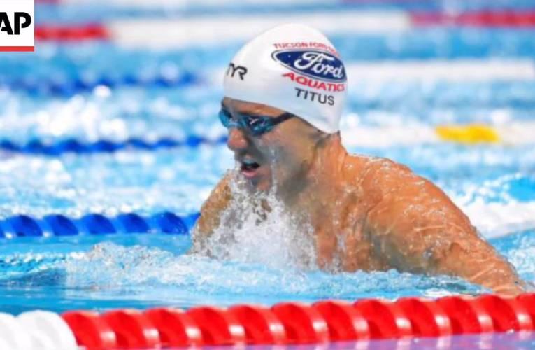 Deaf Swimmer Seeks Spot On U.S. Olympic Team