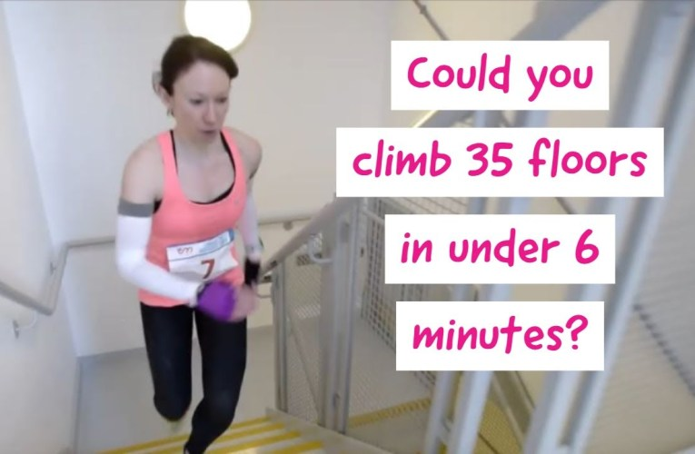Broadgate Tower Stairclimb Highlights