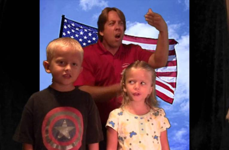 The National Anthem in ASL with Keith Wann and Co.