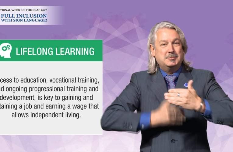 IWD 2017 Campaign Key Message – Lifelong Learning