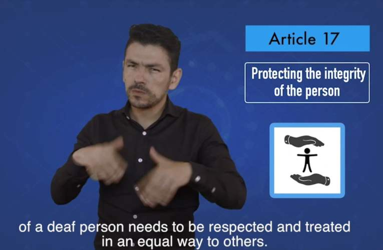 2. articles 17 Protecting the integrity of the person