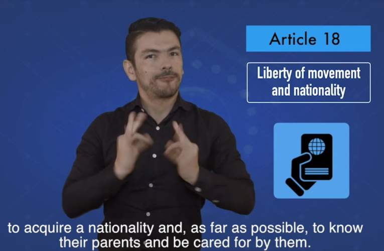 2. articles 18 Liberty of movement and nationality
