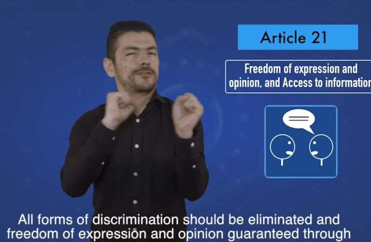 2. articles 21 Freedom of expression opinion, and access to information