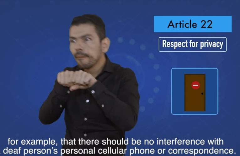 2. articles 22 Respect for privacy