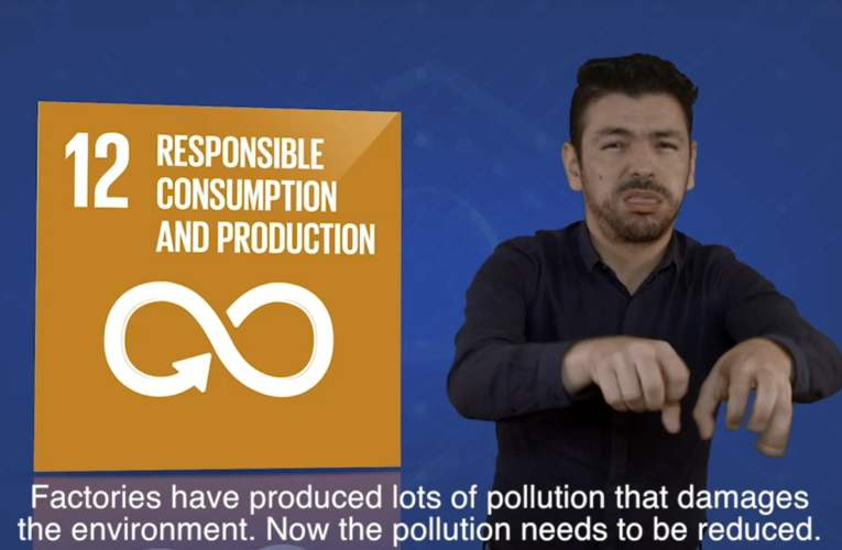 3. goals 12 – Responsible consumption and production