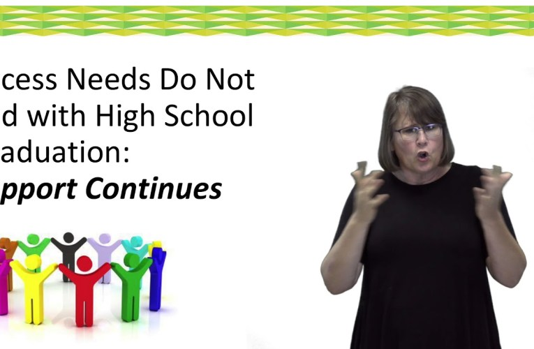 IEP Guide:  What Should Be Considered as Students Transition from High School