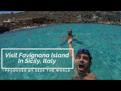 Visit Favignana Island In Sicily, Italy: One of Our Favorite Islands in Italy!