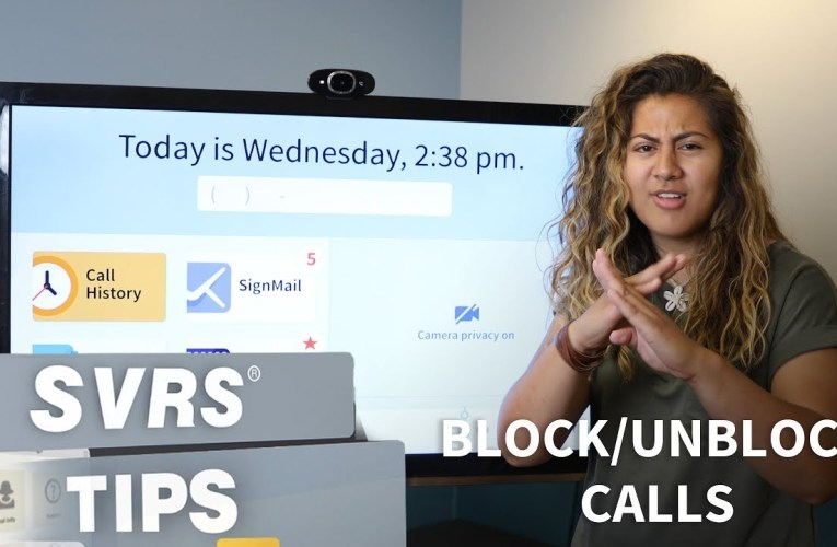 SVRS Tip: Block or Unblock