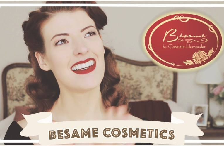 Besame Cosmetics Review // Vintage Make Up Haul & How To [CC]