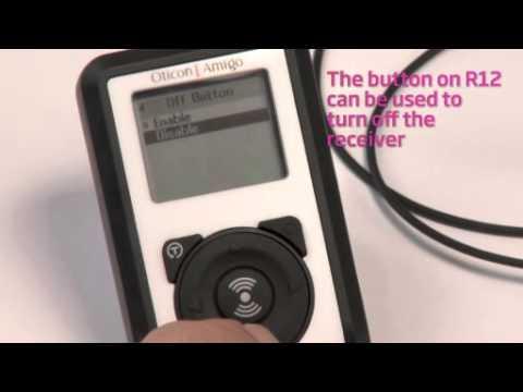 Oticon Amigo – Enabling the Off Button on the R12 Receiver