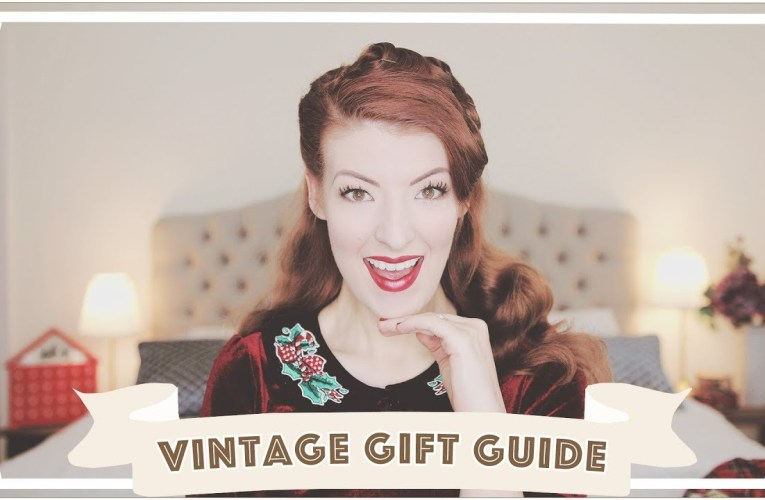 Things You Need This Christmas // Vintage Gift Guide // Vlogmas 2018