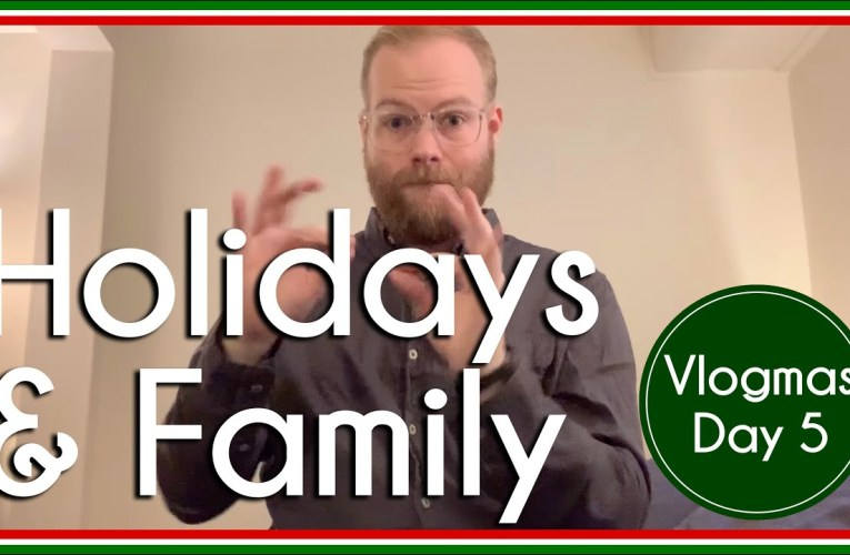 Being queer during the holidays   Vlogmas