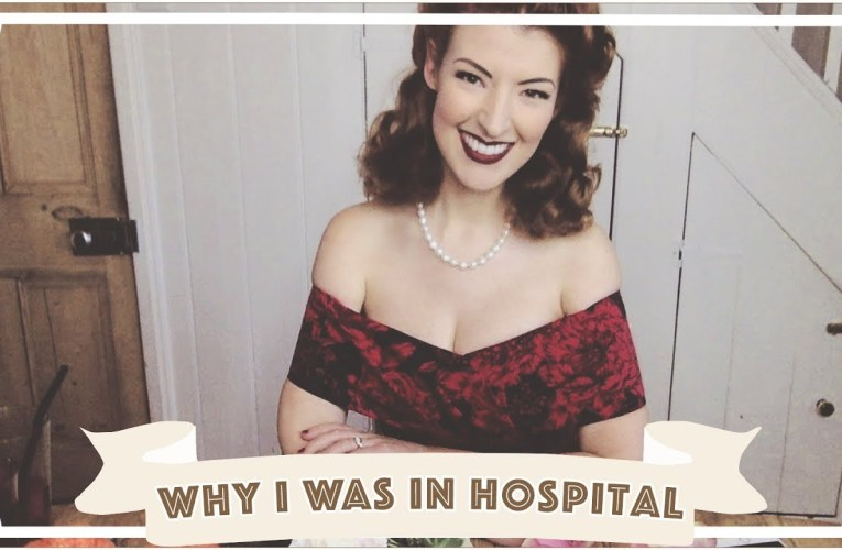 Why I was in the hospital…