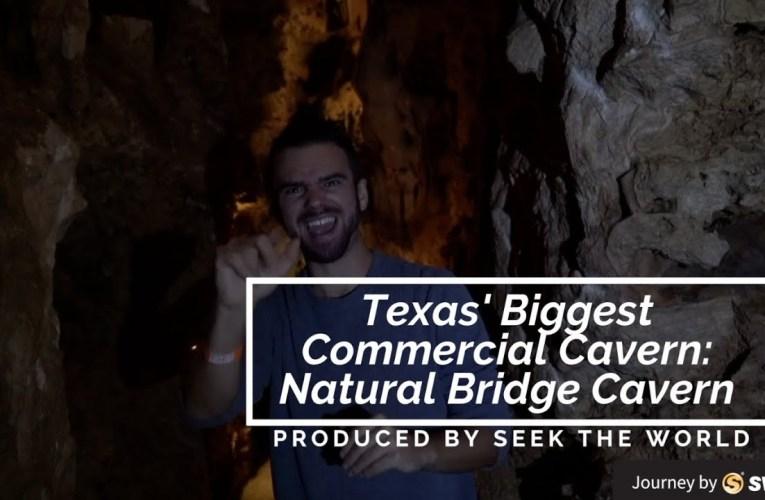 Texas' Biggest Commercial Cavern: Natural Bridge Cavern