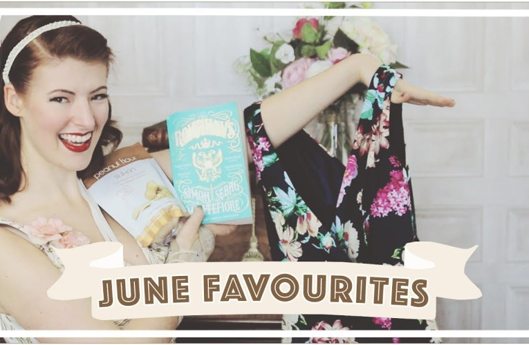 June Favourites: 1950s Dress, Peanut Flour… [CC]