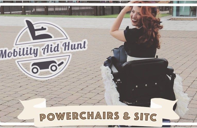 Trying a power chair for the first time! // Mobility Aids 3