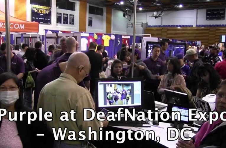 Purple at DeafNation Expo – Washington, DC 2013