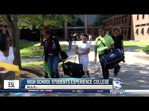RIT on TV: College prep for rising ninth-graders