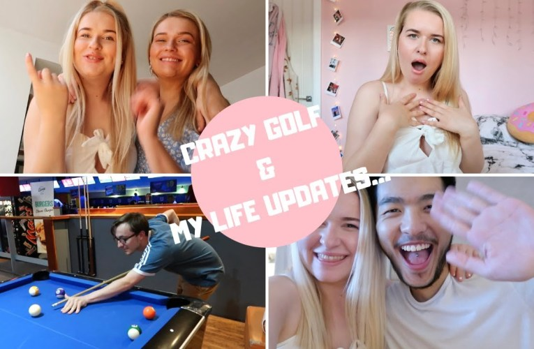 CRAZY GOLF WITH MY SISTER & MY DEAF LIFE UPDATES…