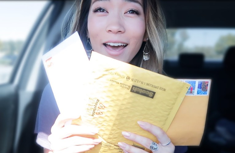 THANK YOU FOR THE LETTERS!…And the In N Out Gift Card!