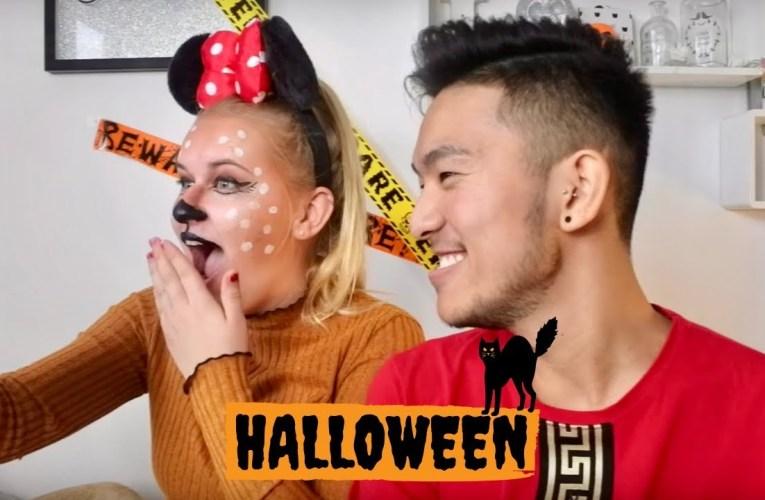 Bestfriend Does My Halloween Make-Up! *HILARIOUS*
