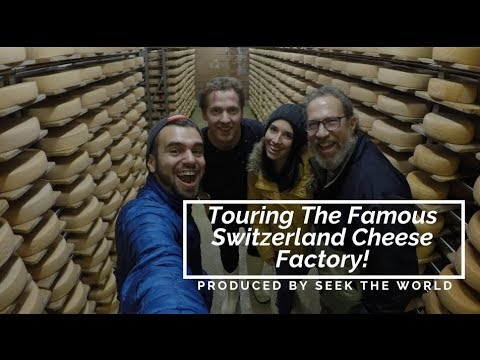 Verbier, Switzerland – Touring The Famous Cheese Factory (Laiterie Verbier)!