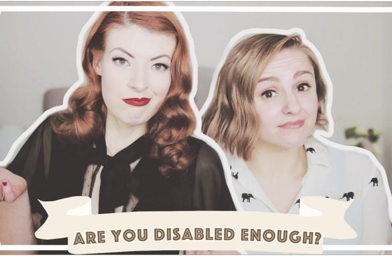 Am I Disabled Enough? // ft. Hannah Witton [CC]