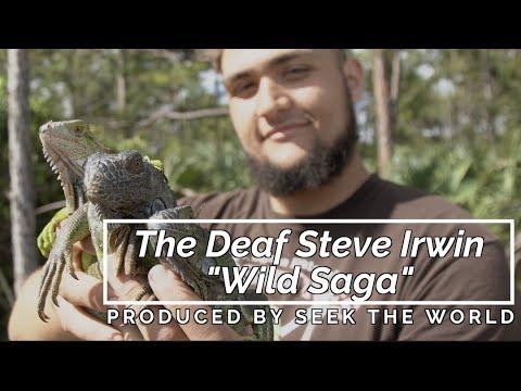 "The Deaf Steve Irwin ""The Wild Saga with Call"" – Capturing Iguana Lizard"