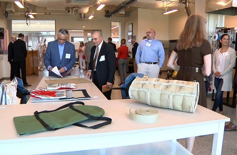 RIT Opens Bal Dixit Laboratory for Advanced Materials and Fire Protection Research