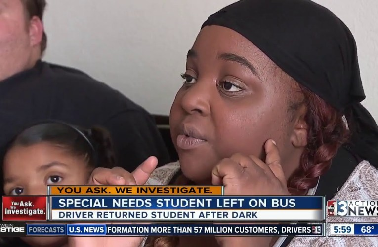 Deaf girl forgotten on bus after driver mishap