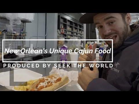 New Orlean's Unique Cajun Food – Alligator, PoBoy's, Frog Legs, Turtle, Goes on!