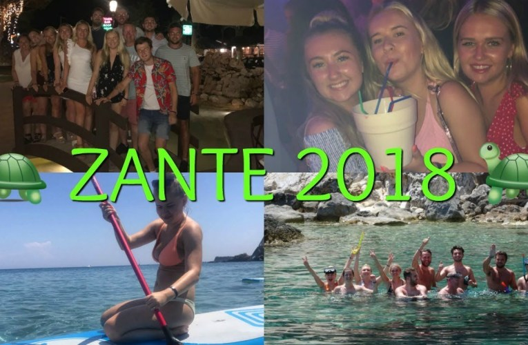 CRAZY GROUP OF 12 PEOPLE ON A TRIP TO ZANTE 2018!
